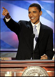Barack Obama, Democratic National Convention 2004