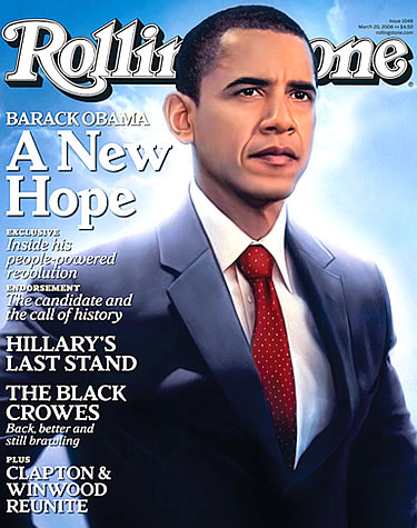 Rolling Stone Superman-ifies Obama