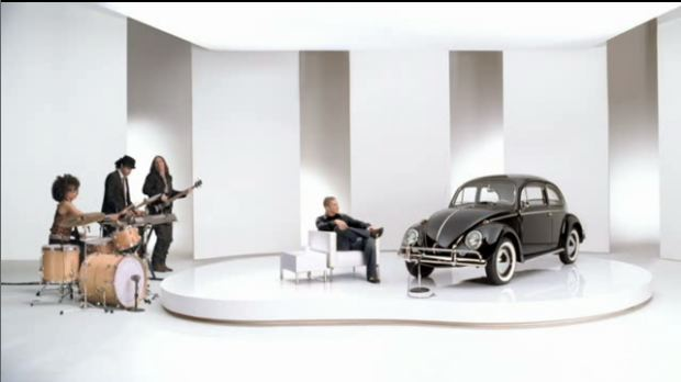 VW talk show set