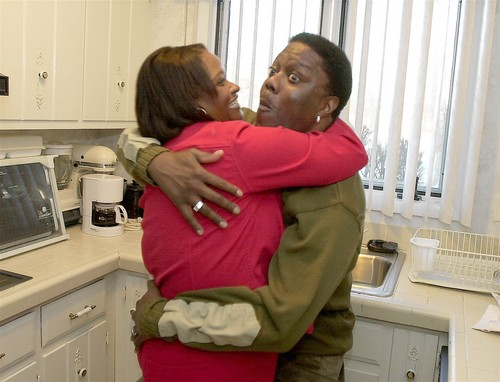 Pictures of bernie mac and wife benz