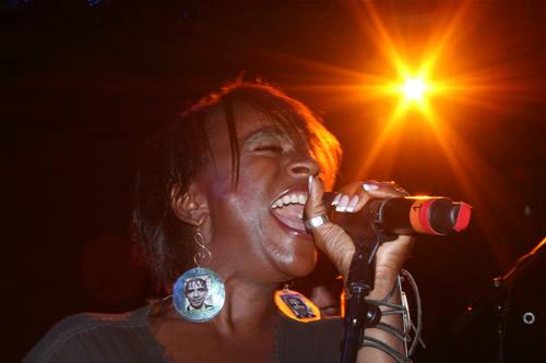 Sandra St. Sister: Girl's got a blast like an earthquake…