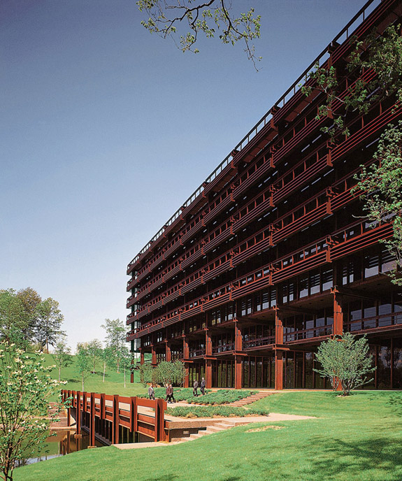 Eero Saarinen—John Deere headquarters