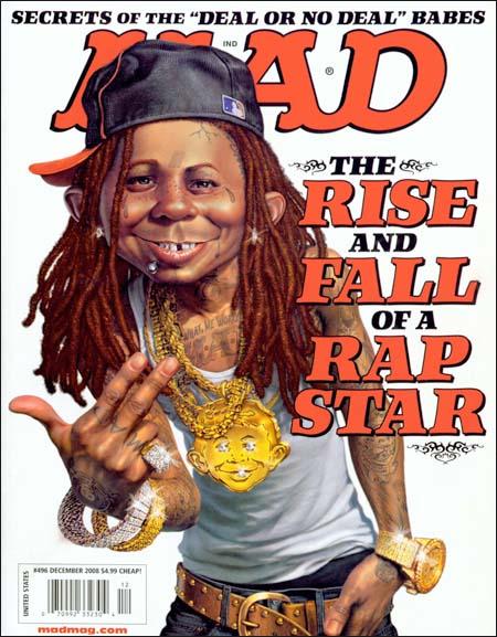 Mad magazine cover #496
