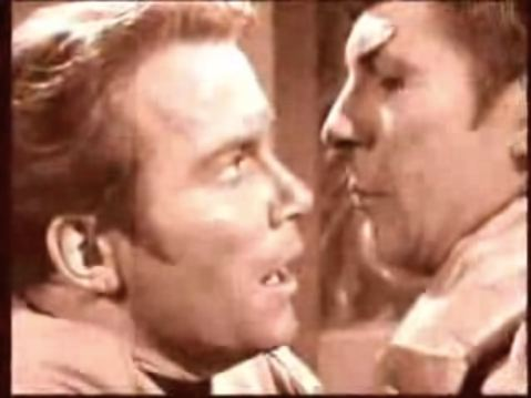 "Kirk and Spock ""fanfic"""