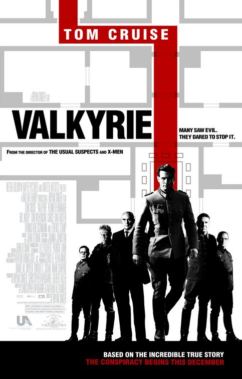 Valkyrie one sheet poster
