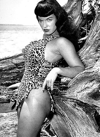 Bettie Page will tear you apart