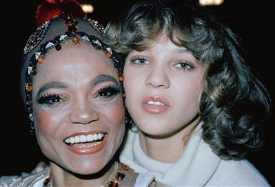 Eartha Kitt and daughter