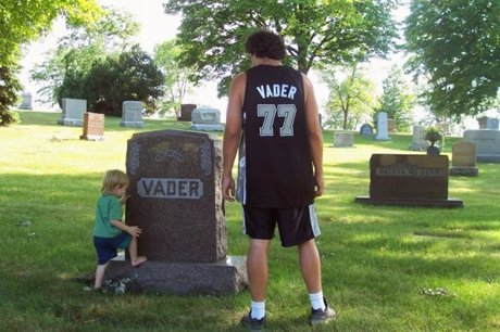 Greg Pitelli lingers over Vader's grave…and the Dark side
