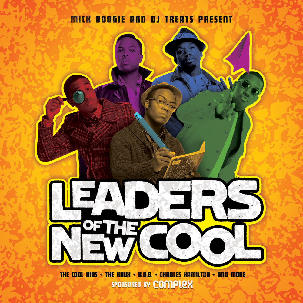 Leaders of the New Cool mixtape front cover
