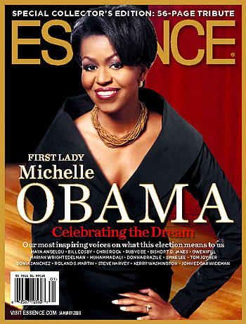 Michelle Obama's January 2009 ESSENCE cover