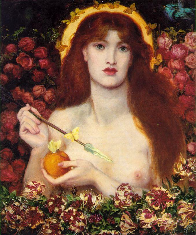 """""""Venus Verticordia"""" by Rossetti"""