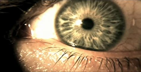Chris Redfield's eye