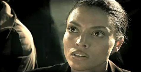 Sheva Alomar looks on