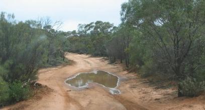 Australia As A Puddle