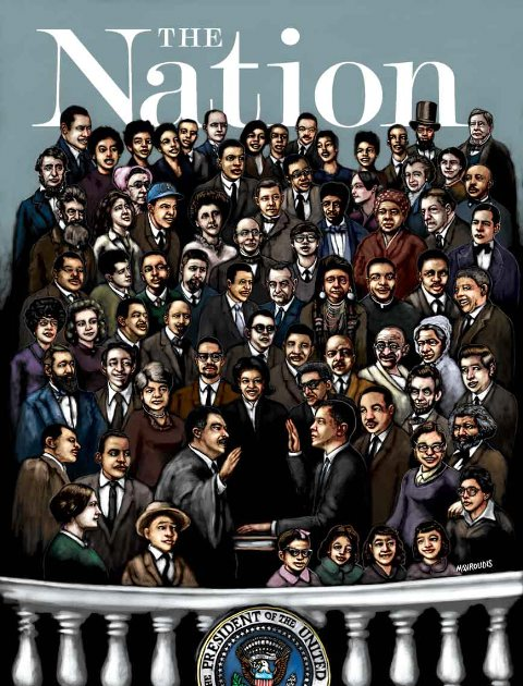 The Nation inaugural cover
