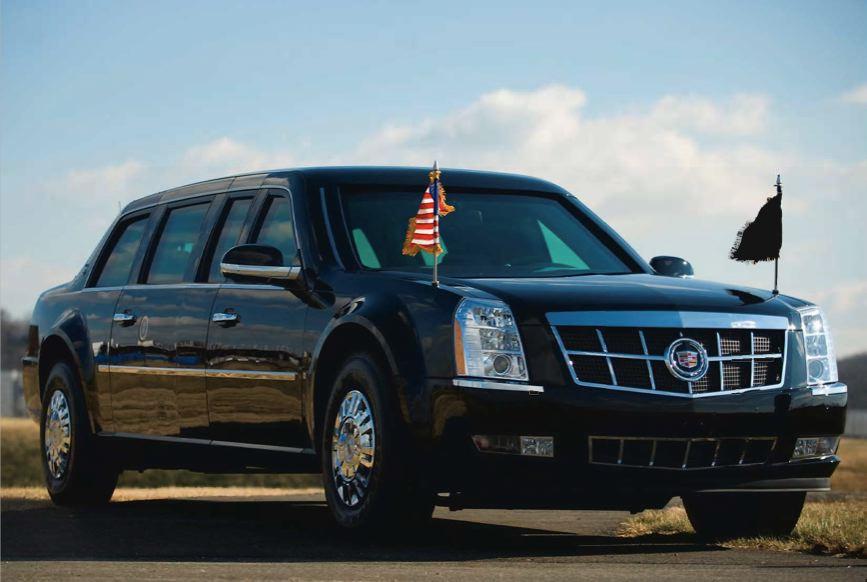 Barack Obama presidential limo
