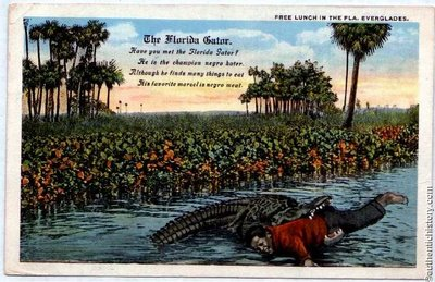 Racist Florida postcard