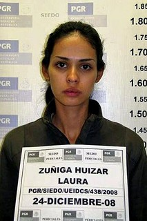 Zuniga Huizar after her arrest in December.