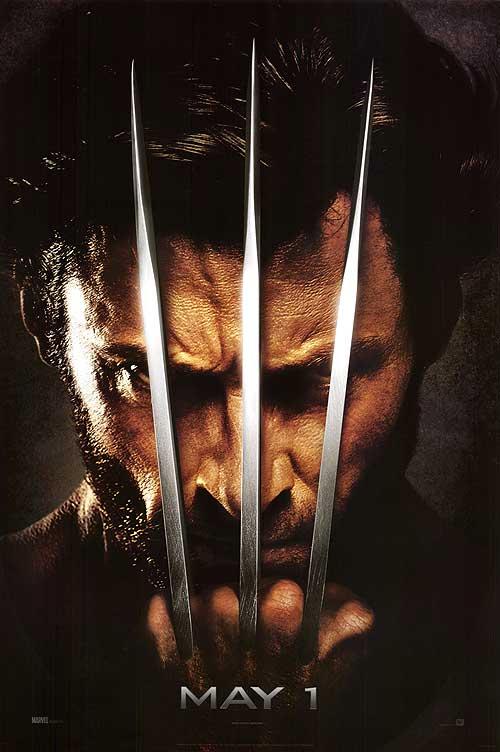 X-Men Origins: Wolverine teaster poster