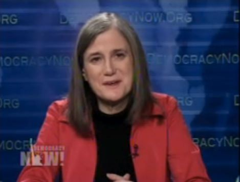 Amy Goodman on Democracy Now, February 5, 2009