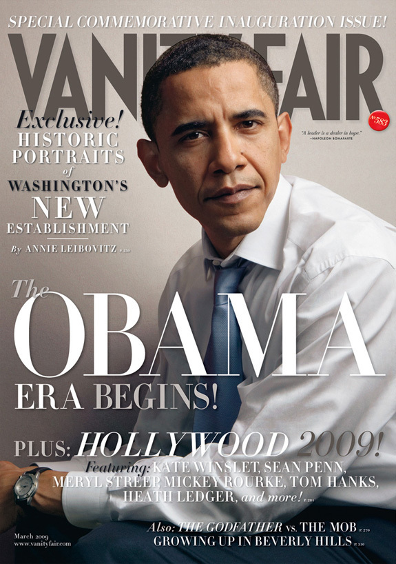 Barack Obama Vanity Fair cover