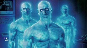 Doctor Manhattan from Watchmen