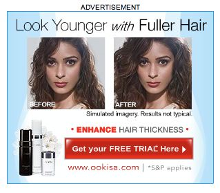 Enhance Hair Thickness ad