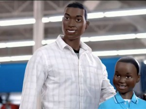 Old Navy Supermodelquins Black father and son