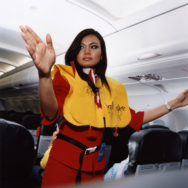 """Roshayati, Air Asia, 2006"" by Brian Finke"