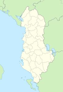 locationmapalbania